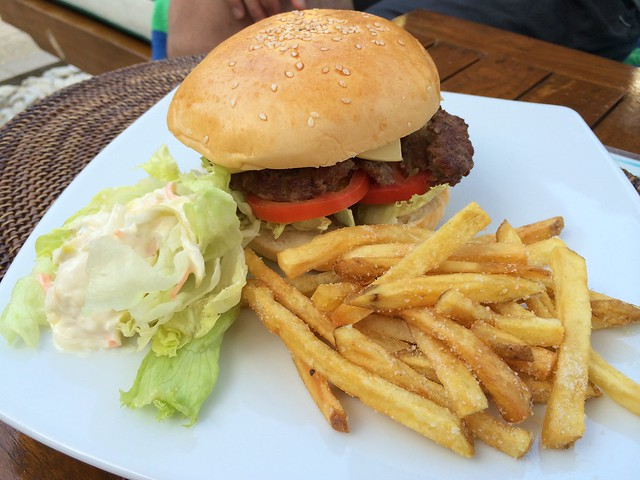 U.S. Angus beef burger - Christina's