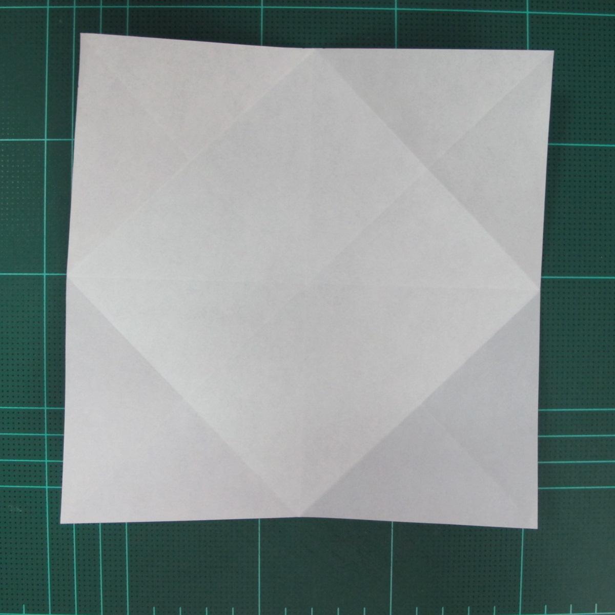 การพับกระดาษเป็นฐานนกอินทรี (Origami Eagle) 006