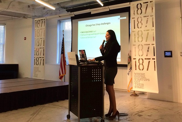 1871's Kristi Dulla speaks at Public Health Datapalooza