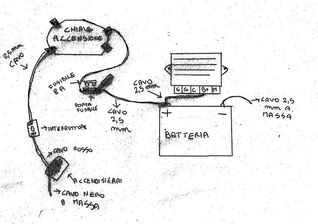 Schema Elettrico Vespa Px 125 Senza Batteria : Schema regolatore tensione vespa px fare di una mosca