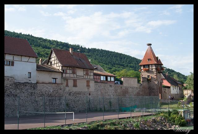Torre de las Brujas en Chatenois