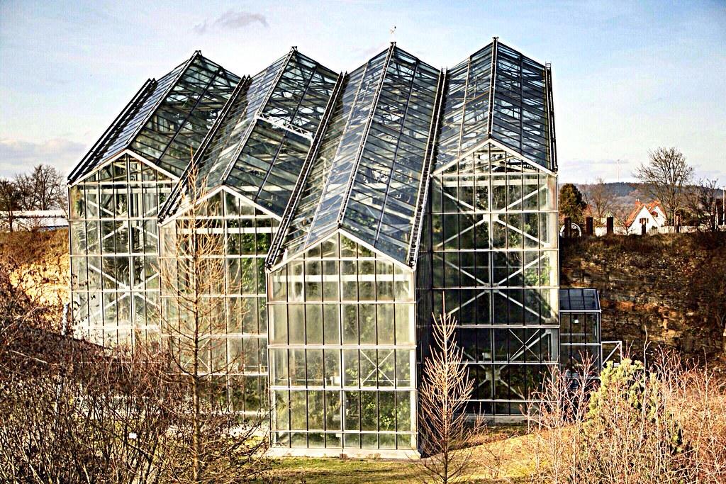 Gewächshaus im Botanischen Garten Osnabrück