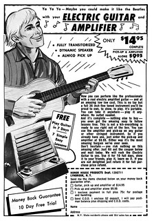 electric guitar & amplifier 1965