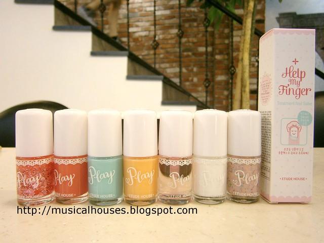 Etude House Nail Polish Manicure