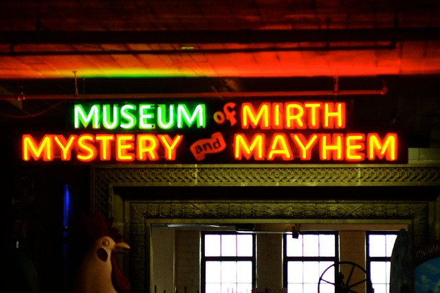 Museum of Mirth, Mystery and Mayhem
