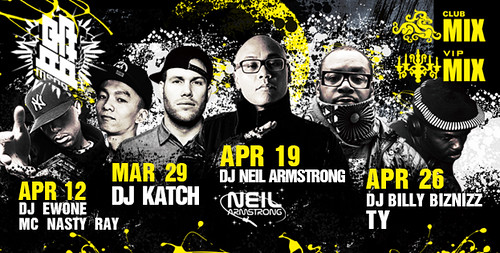 4/19 - Sat - Hip Hop @ Club Mix Beijing