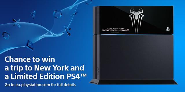 Конкурс The Amazing Spider-Man 2 — поездка в Нью-Йорк и эксклюзивная консоль PS4
