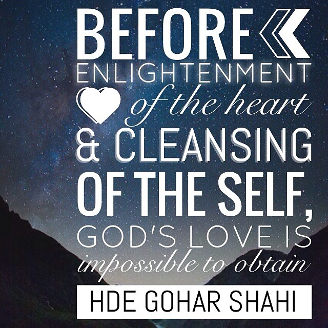 Quote of the Day: Before Enlightenment of the Heart...