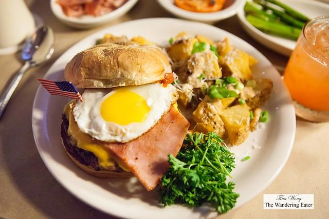 Montana Breakfast Bison Burger