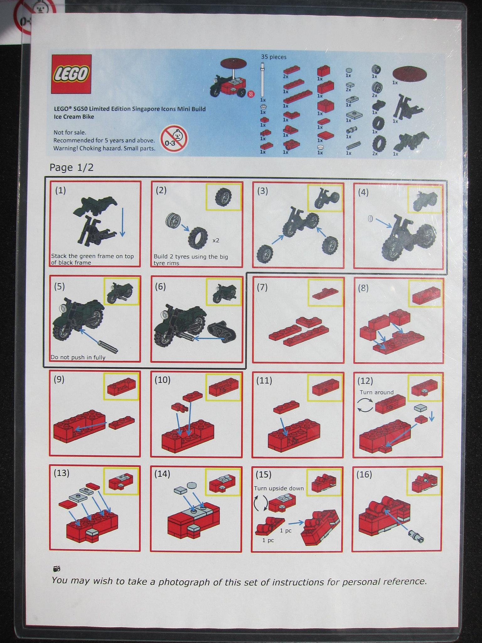 Lego Sg50 Singapore Icons Mini Builds Blog Lesterchan