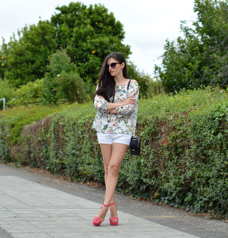 zara_ootd_outfit_off the shoulder_shorts_02
