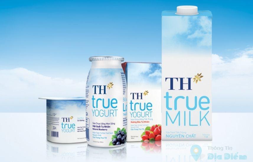 cửa hàng sữa th true milk