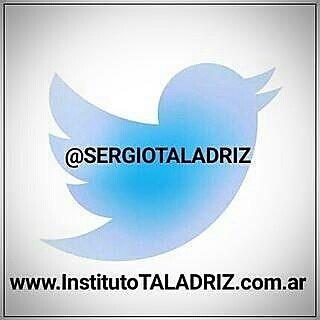 Cuenta de #twitter del #InstitutoTALADRIZ Sergio TALADRIZ.  http://crwd.fr/2nqASqG