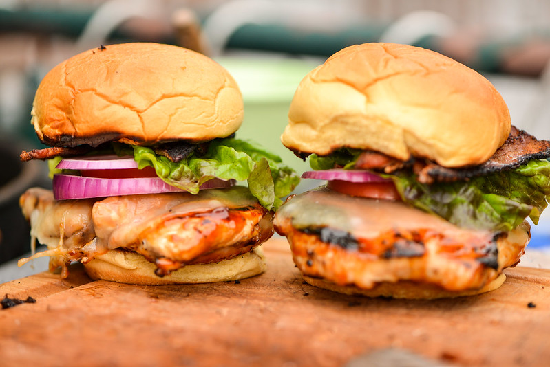Sweet and Spicy Chicken Sandwiches