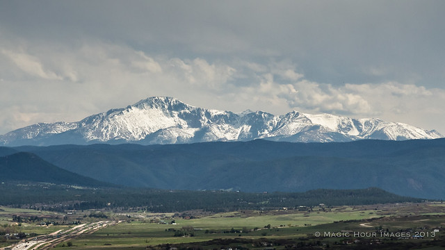 What Pikes Peak Looked Like Today