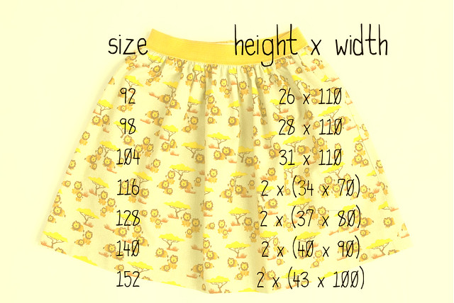 Skirt Week 2013 tutorial