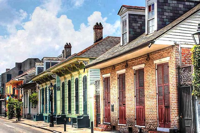 Classic French Quarter Residential Architecture Flickr