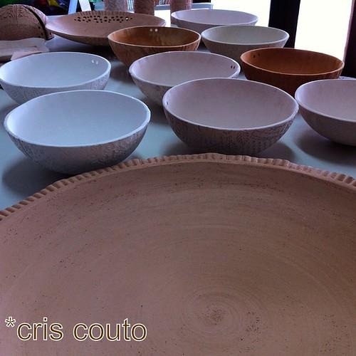Ultima fornada...prontos para esmaltar by cris couto 73