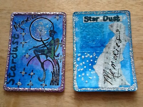 Stardust ATC's by momoo50
