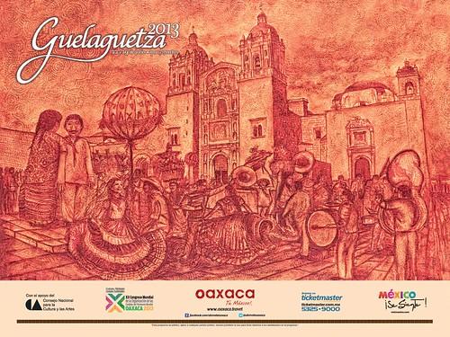 2013 Calenda de la Guelaguetza