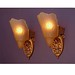 *vintage slipper shade wall sconces | vintagelights.com
