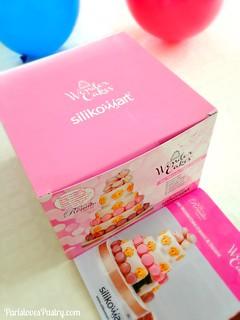 Silikomart 3-Tier Cake Molds