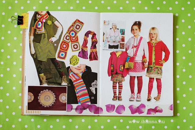 Glue Book: A Section for what to wear