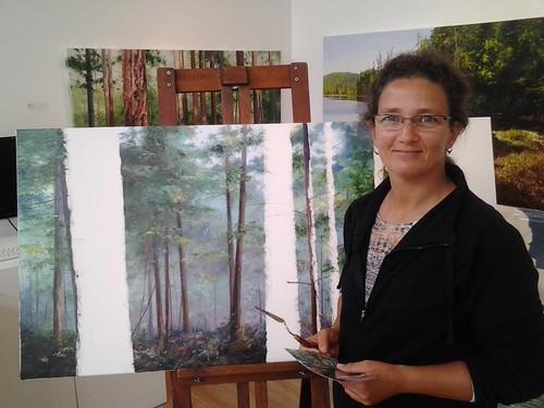 Artist Erika Toliusis