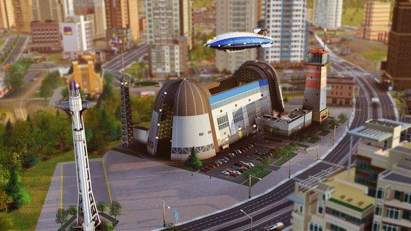 Дирижабли SimCity
