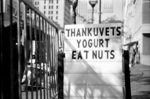 THANKUVETS YOGURT EAT NUTS