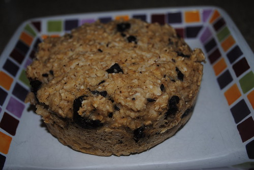 chocolate chip cookie baked oatmeal (3)