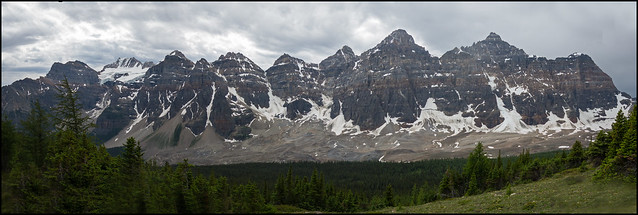 The Valley of the Ten Peaks
