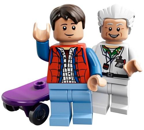 Lego Марти МакФлай и Эмметт Браун