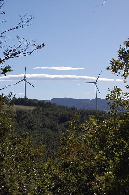 Casoni di Romagna eolic park
