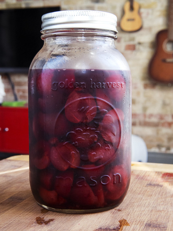 Unique Recipes for Cherries? Try Quick Pickled Cherries fridge pickles Cherry