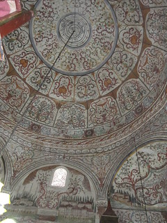 Decoration in Et'hem Bey mosque, Tirana