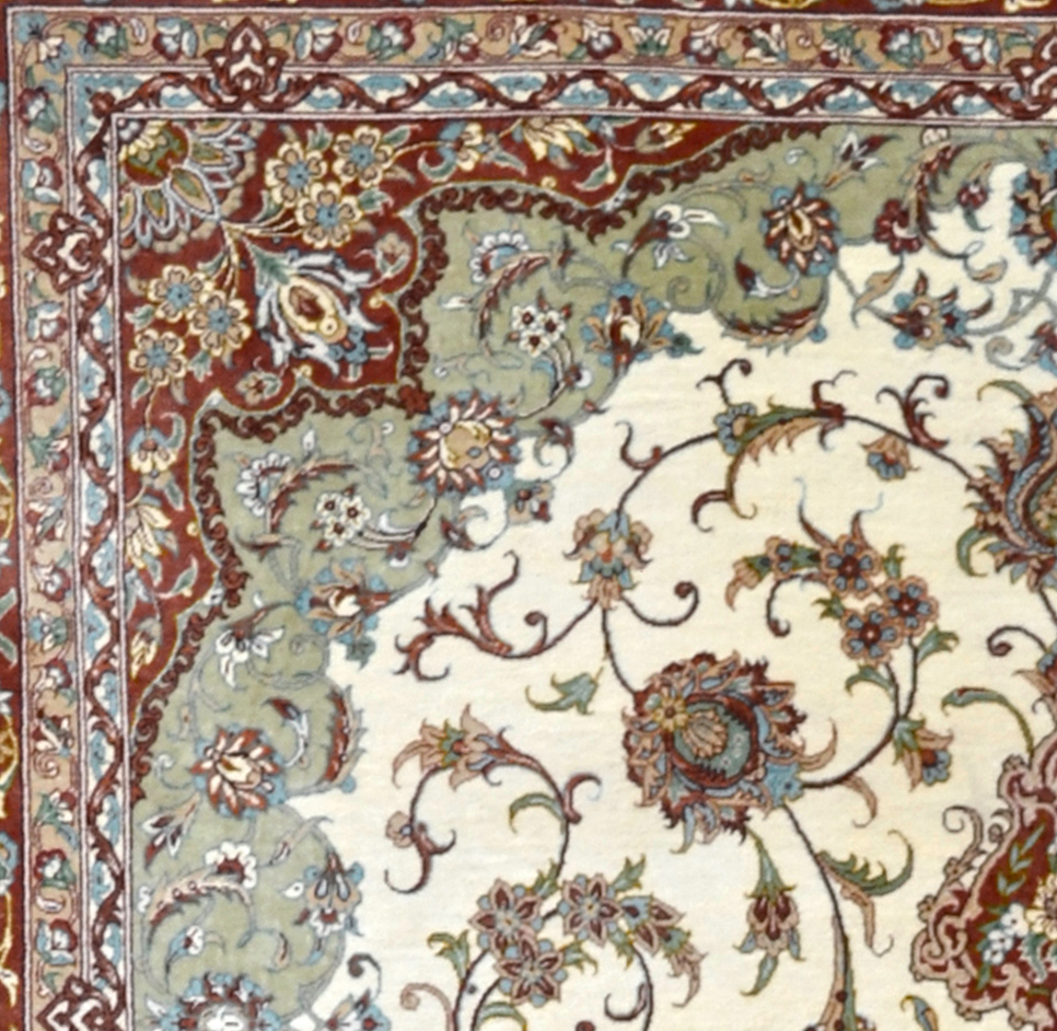 Qum Silk Persian Area Rug