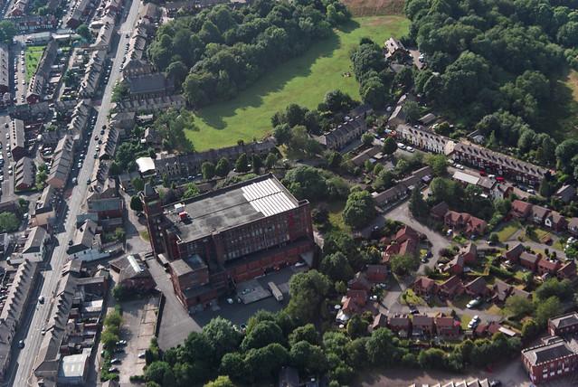 Falcon Mill, Halliwell, Bolton