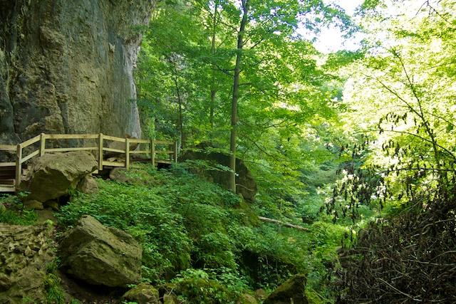 Maquoketa Caves State Park Iowa