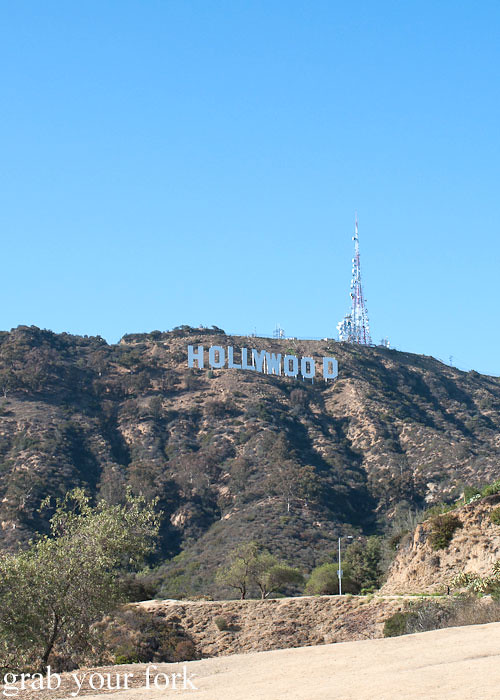 hollywood sign in hollywood hills los angeles usa