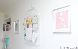 Bird cage memo board