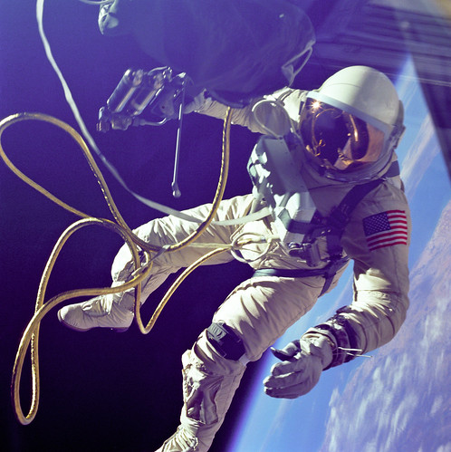 Ed White First American Spacewalker