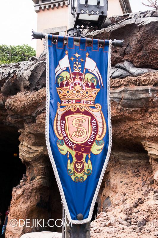 Tokyo DisneySea - Mediterranean Harbor / Fortress Explorations / SEA Flag