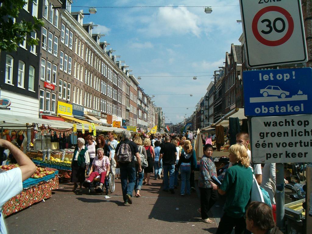 14. Albert Cuyp markt, el mayor mercado al aire libre de Europa. Autor, Shirley de Jong