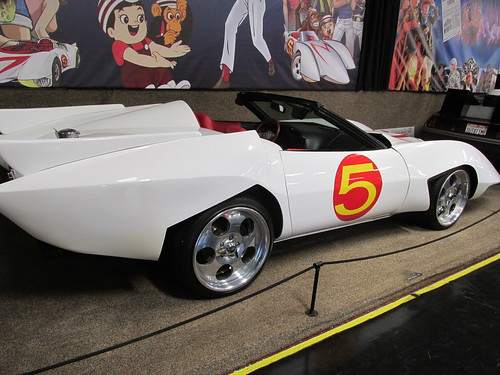 "The Mach 5 race car from the movie ""Speed Racer"".  The Volo Auto Museum.  Volo  Illinois.  June 2013. by Eddie from Chicago"