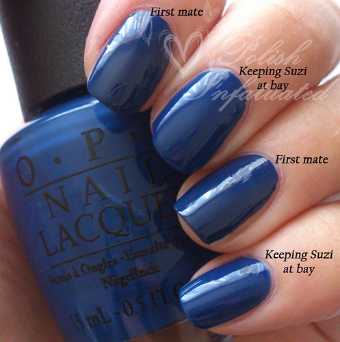 OPI San Francisco collection comparisons ~ Polish Infatuated