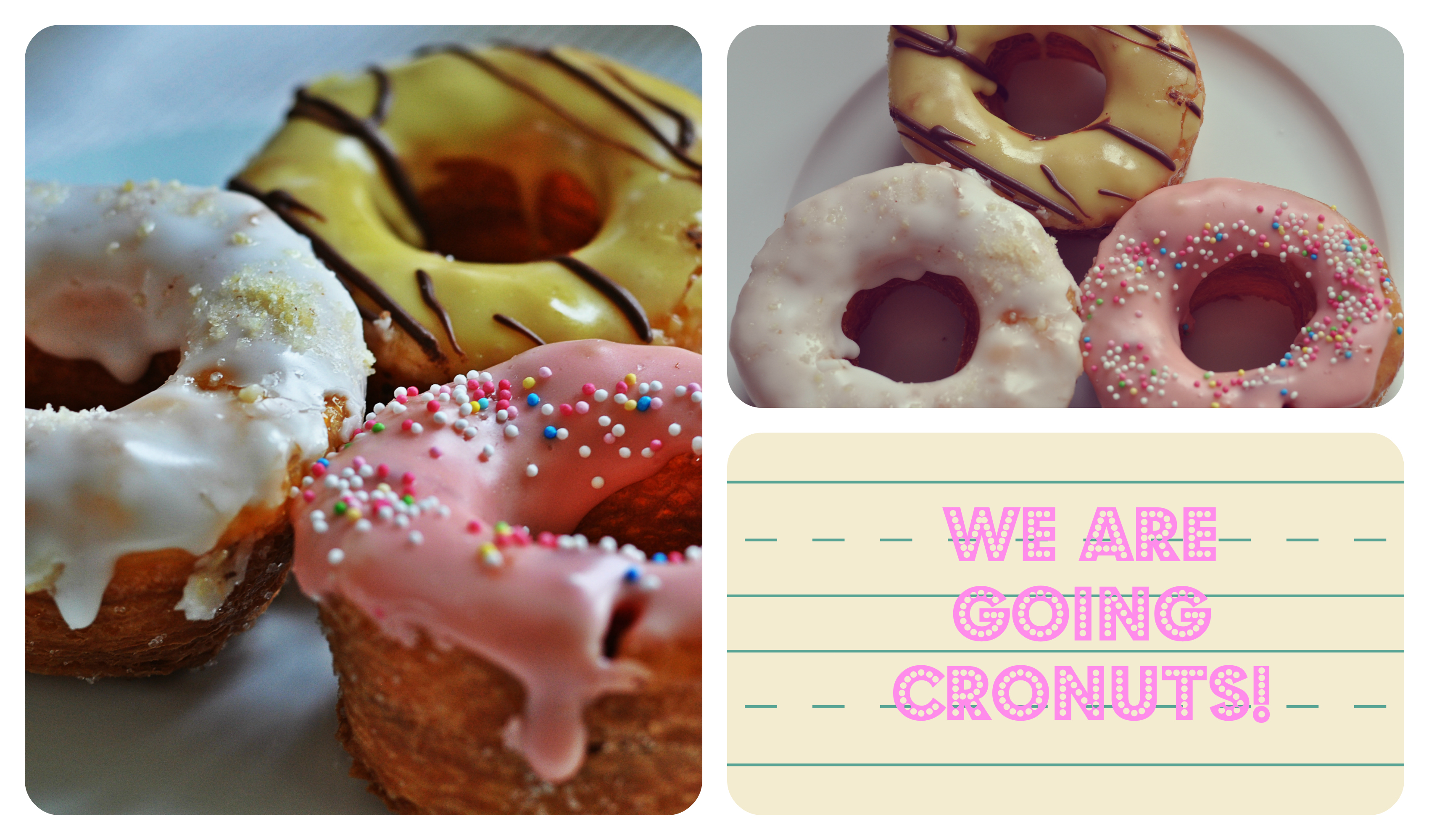 Cronuts Collage