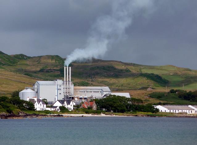 Not just any ol' smoke - It's Islay peat smoke!