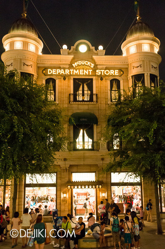 American Waterfront - McDuck's Department Store - Exterior
