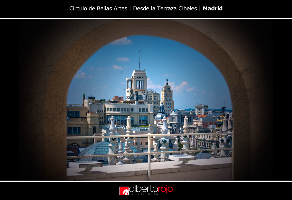Terraza Cibeles Madrid Nikon D80 Textura Antón Osolev
